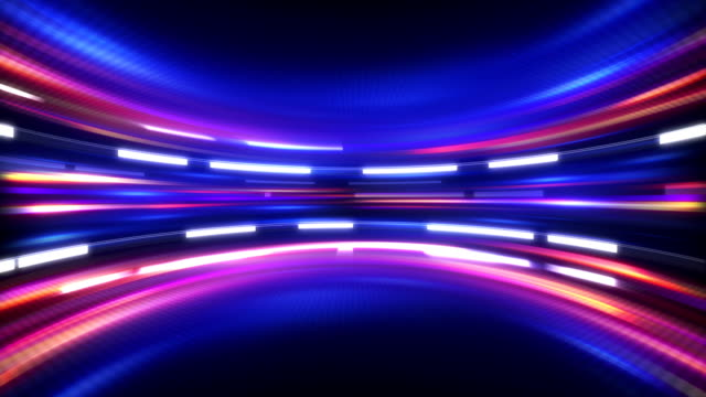 shining high tech abstract loopable background video