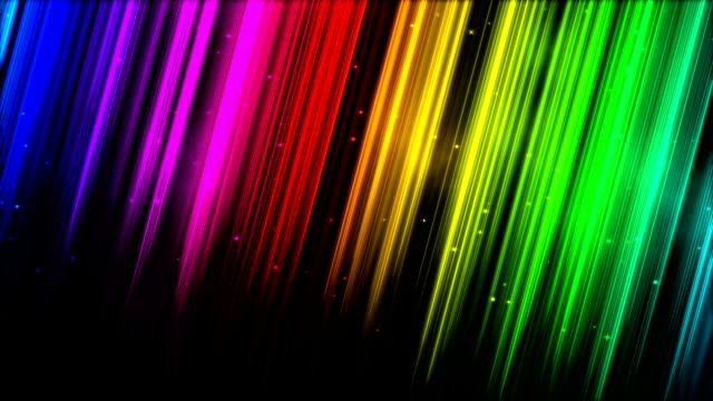 vídeos de stock e filmes b-roll de raios de luz a brilhar-loop - reto descrição física