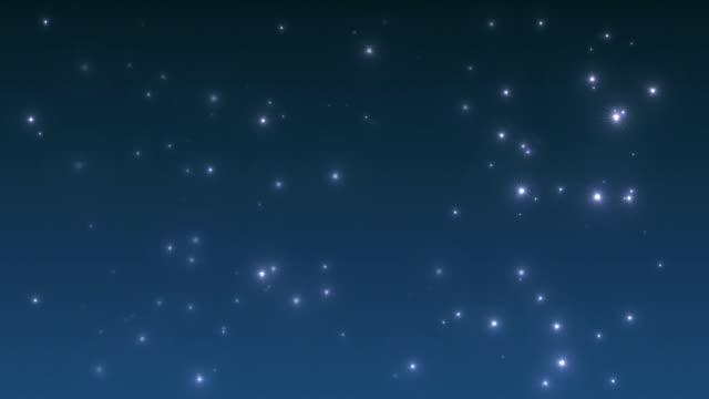 輝く星(ループ) ビデオ
