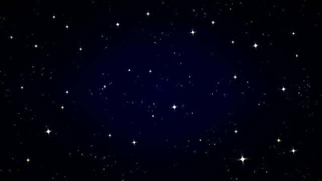 shining stars - kształt gwiazdy filmów i materiałów b-roll