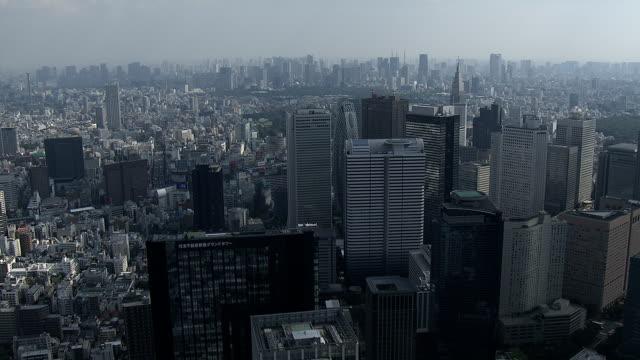 Shinjyuku subcenter van stad video