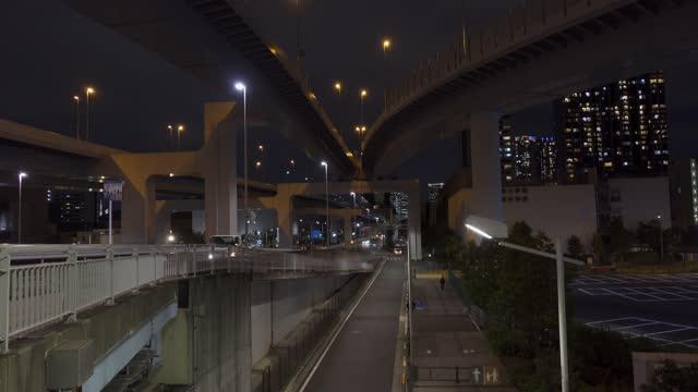 Shinonome Junction, Japan Tokyo Night View