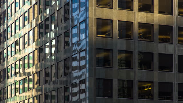 Shiny Modern Office Building - Time Lapse video