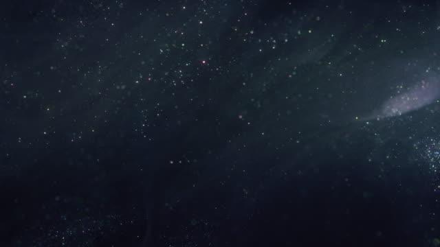 shiny particle background 4k uhd - paranormalny filmów i materiałów b-roll