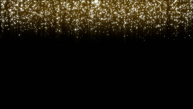 Shiny Stars Background - 4K Resolution Gold, Gold Colored, Glittering, Abstract, Backgrounds birthday background stock videos & royalty-free footage