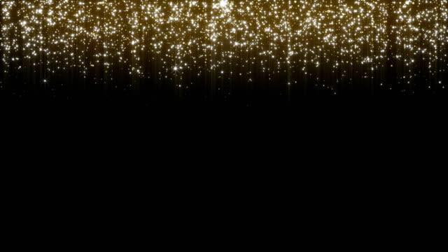 glänzende sterne hintergrund - 4k-auflösung - bling bling stock-videos und b-roll-filmmaterial