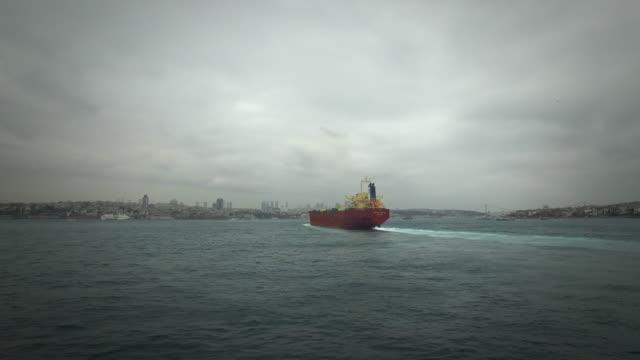 Ship at sea video