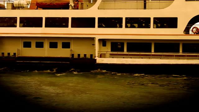 ship journey - fianco a fianco video stock e b–roll