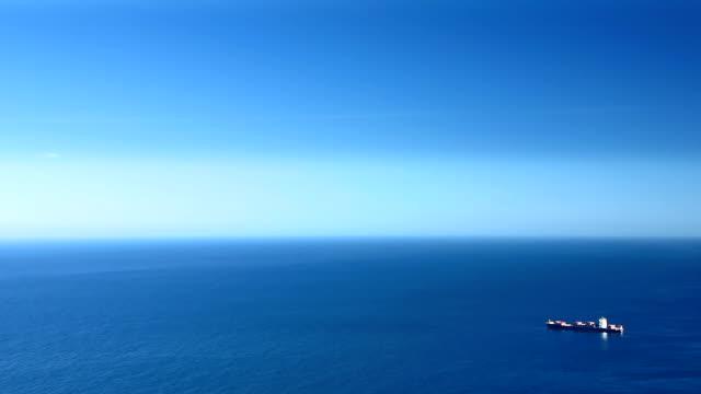 Ship, Ocean, Blue Sky video