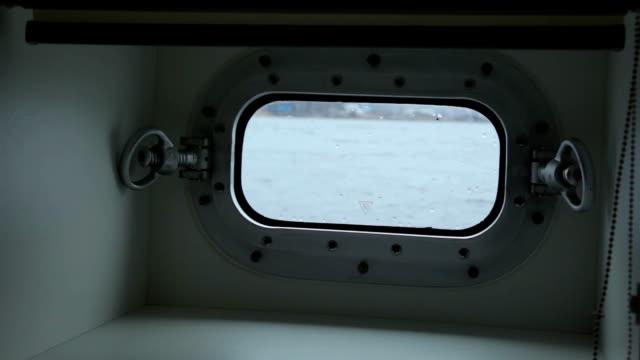 Ship window video