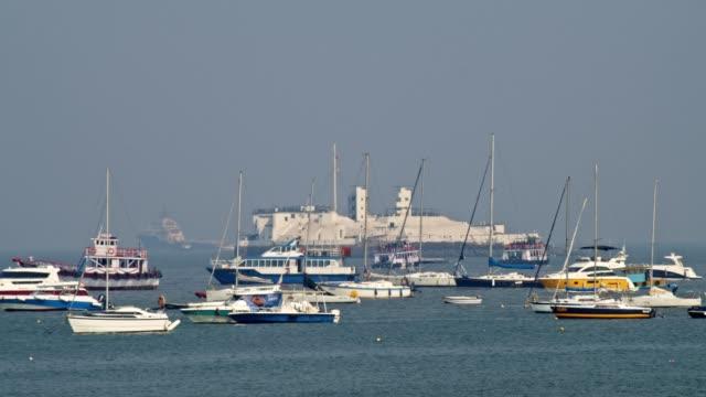 fartyg och båtar som seglar i havet - turistbåt bildbanksvideor och videomaterial från bakom kulisserna