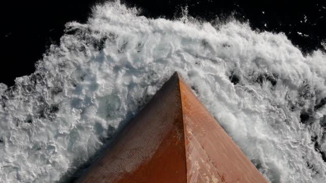 ship's bow - skrov bildbanksvideor och videomaterial från bakom kulisserna