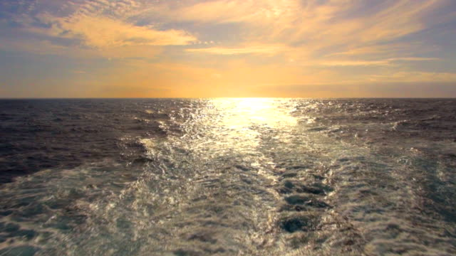 Ships Wake - Trans-Atlantic Crossing video