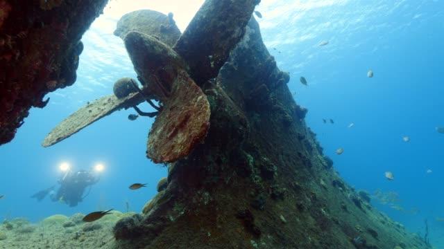 Schiffbruch am Tauchen rund um Curaçao /Netherlands Antilles – Video