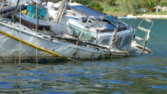 Shipwreck near Shore