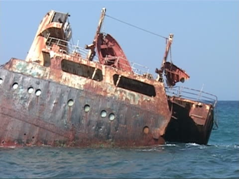 shipwreck - imperfection stock videos & royalty-free footage