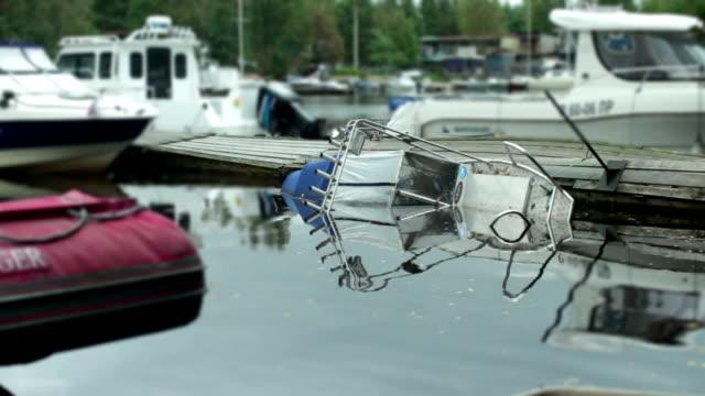 shipwrecked motor boat sinking