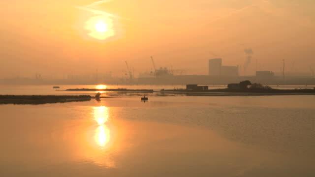 shipyard - ravenna, italy - ravenna stok videoları ve detay görüntü çekimi