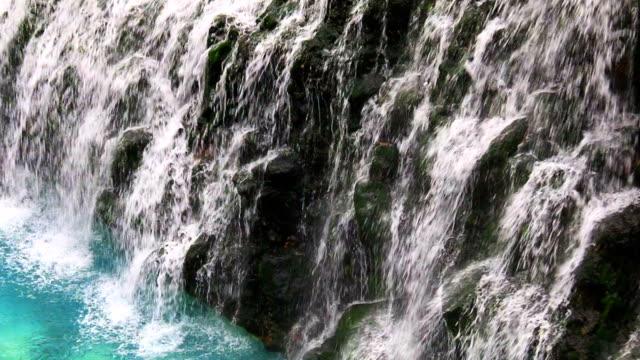 白髭の滝 - 湧水点の映像素材/bロール