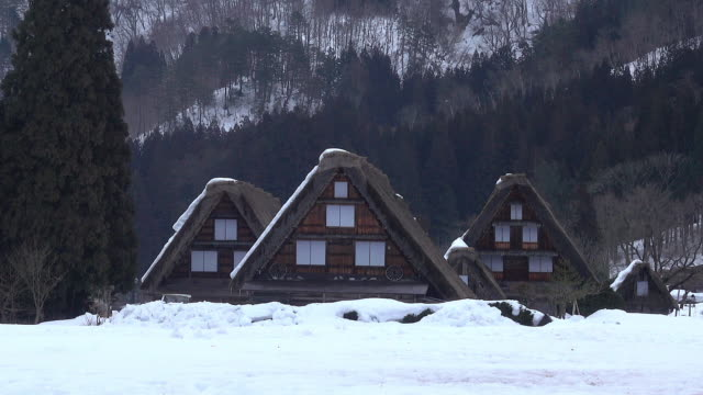 Shirakawago Village, Japan video