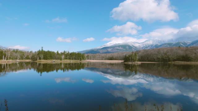 知床五湖、知床五湖、知床国立公園、北海道、4 k で撮影 - 北海道点の映像素材/bロール
