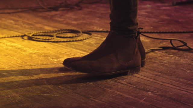 Shoe on concert Shoe on concert stamping feet stock videos & royalty-free footage