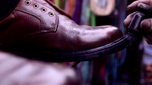 Shoeshine Closeups video