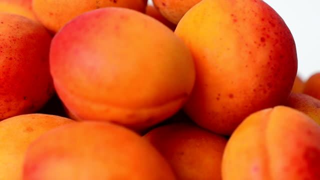 Shooting apricot. video