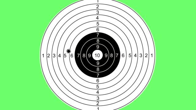 shooting at a target - target australia stock videos & royalty-free footage