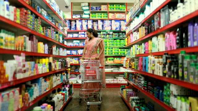 Shopping at Super Market video