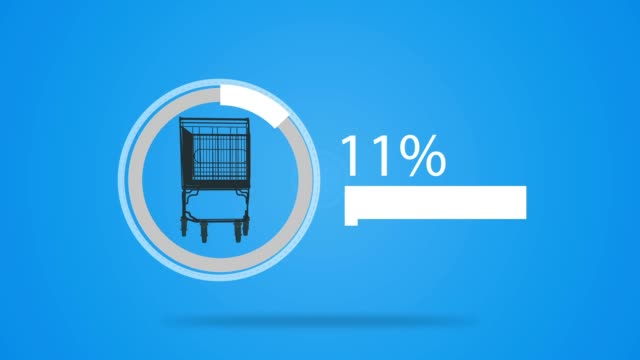 Shopping Cart loading video