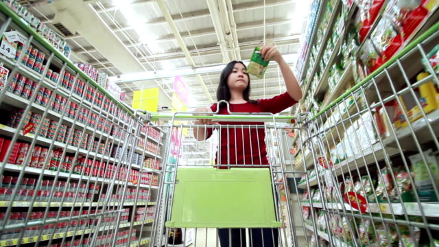 Shopping in Supermaket video