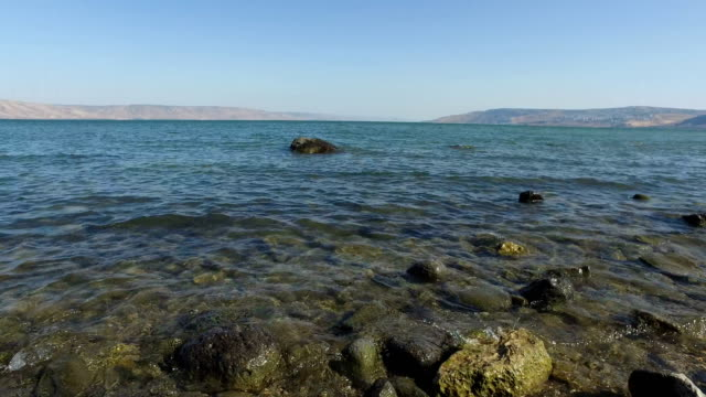 Shore's Edge at Sea of Galilee video