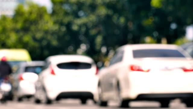 交通渋滞の ms ショット - 渋滞点の映像素材/bロール
