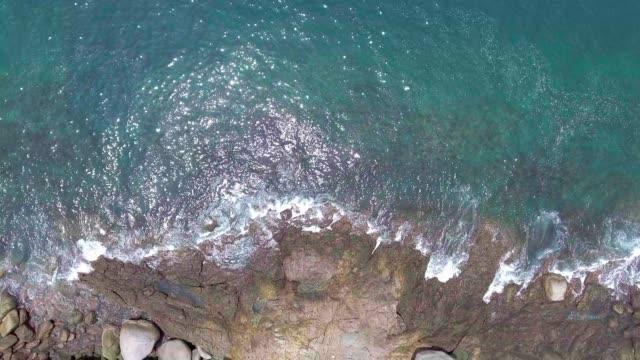 skott av vågor rusar - 4 kilometer bildbanksvideor och videomaterial från bakom kulisserna