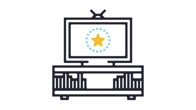 Best Tv Icon Stock Videos and Royalty-Free Footage - iStock