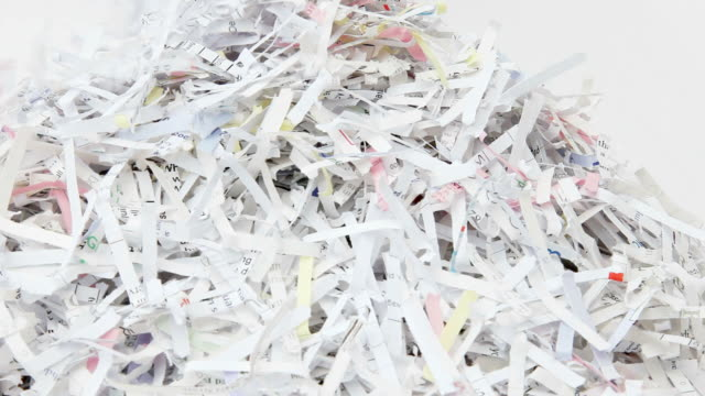 Shredded Paper video