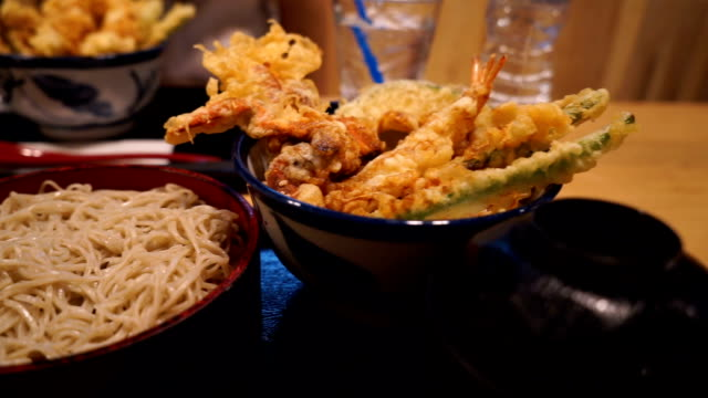 Shrimp Tempura Japanese food video