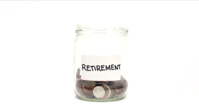 Shrinking retirement funds - HD video