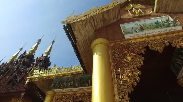 Shwedagon Pagoda 3D decorations, Myanmar video