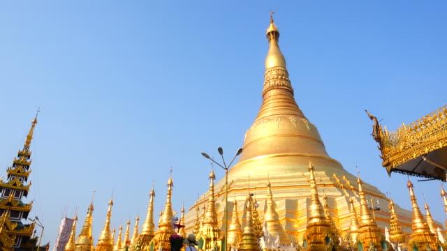 Shwedagon Pagoda in Yangon, Myanmar video