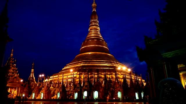 Shwedagon Pagoda - Yangon, Myanmar video
