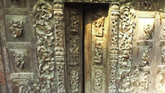 shwenandaw kloster, myanmar - kloster stock-videos und b-roll-filmmaterial