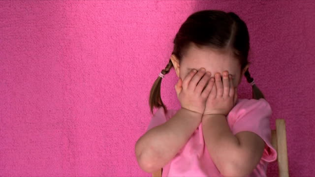 Shy Little Girl (HD,NTSC) video