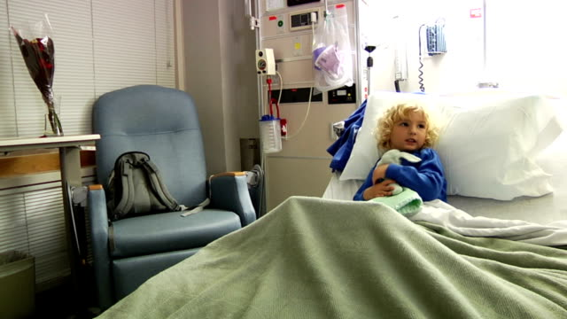 Sick Child In Hospital video