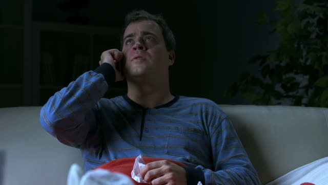 HD DOLLY: Sick Man On The Phone At Night video