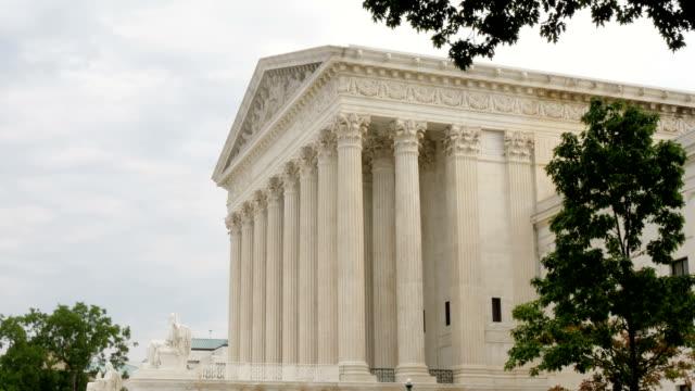 Side View Establishing Shot of the Supreme Court