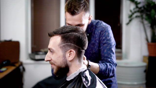 Best Undercut Haircut Stock Videos And Royalty Free Footage
