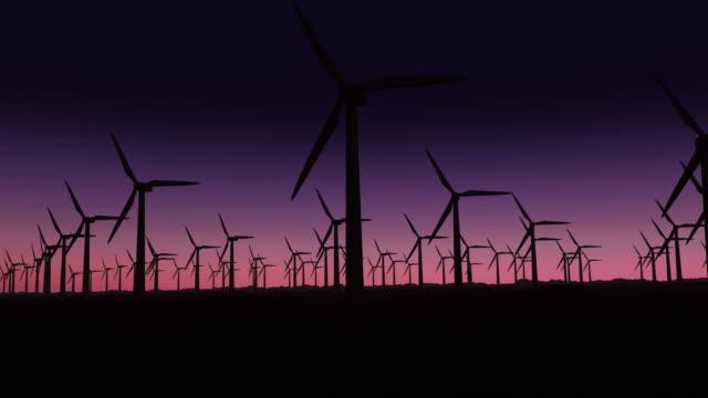 vídeos de stock e filmes b-roll de side view of power plant - circular economy