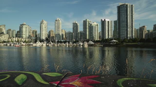 Sidewalk Art, False Creek Seawall, Vancouver video